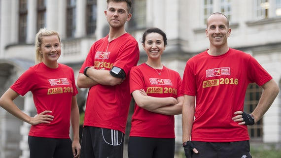 #TeamCardiff runners