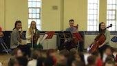 Claret String Quartet from Cardiff University School of Music