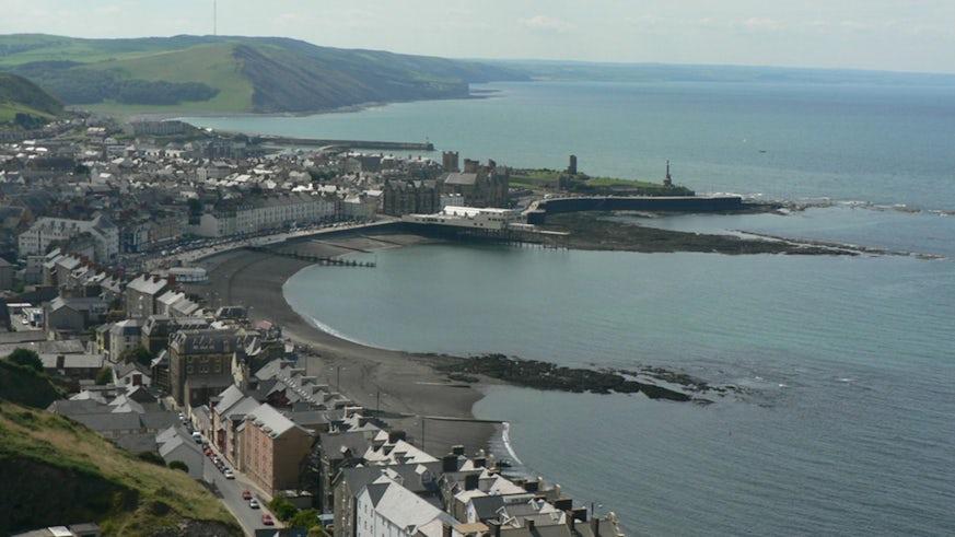 Aberystwyth (photo: BBC Radio Cymru)