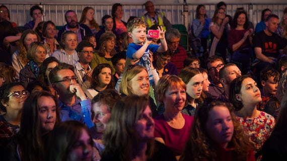 Hay Festival 2016 audience