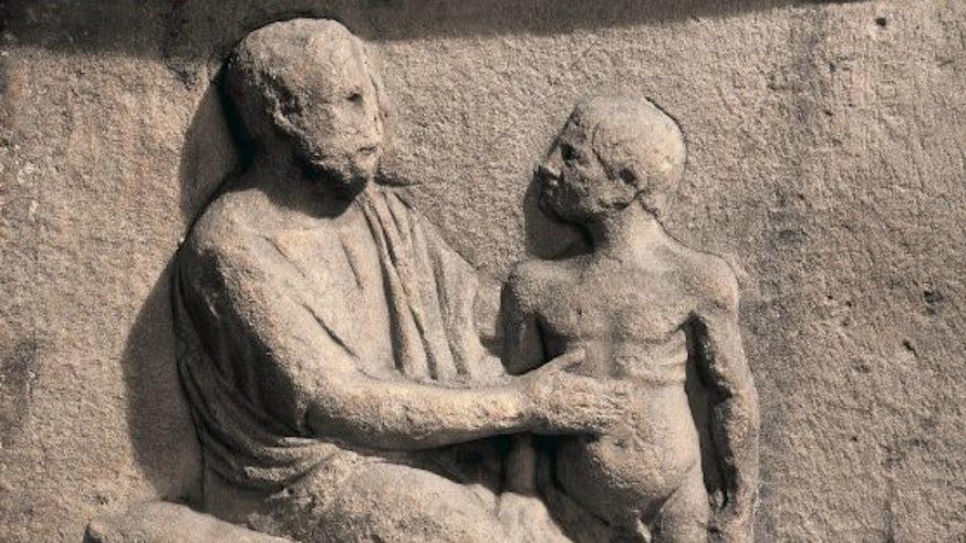 Ancient stone inscription