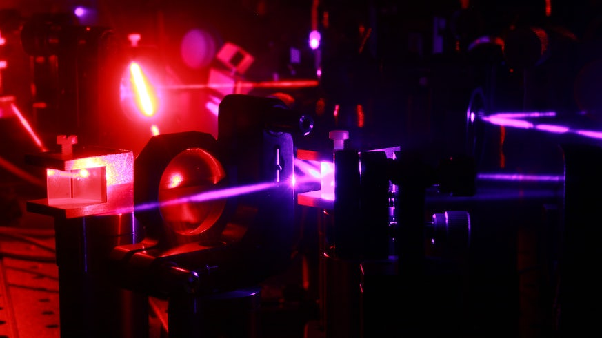 Lazer images physics and biological