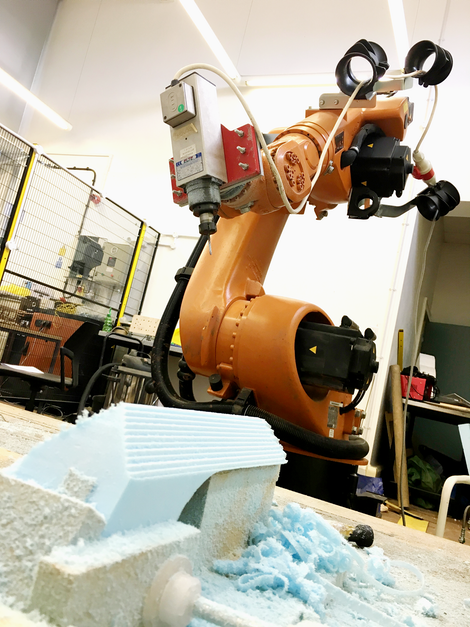 Our in-house robotic arm
