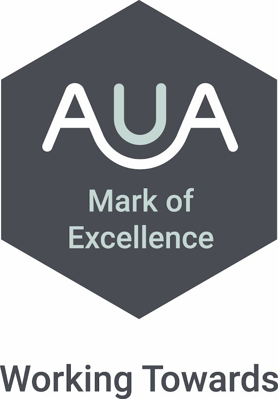 Working towards AUA Mark of Excellence