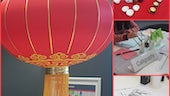 Chinese cultural activities in Cardiff University Business School