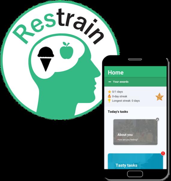 Restrain logo