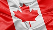 A picture of the Canadian flag