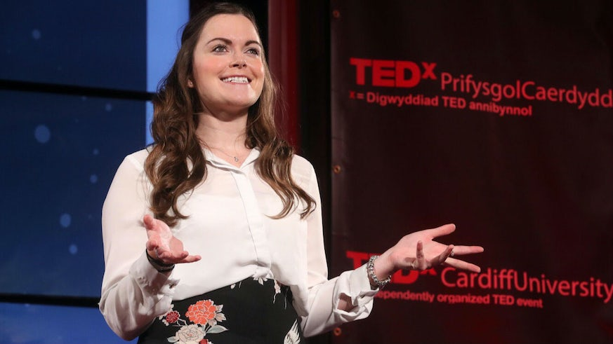 Emma Yhnell at TedX