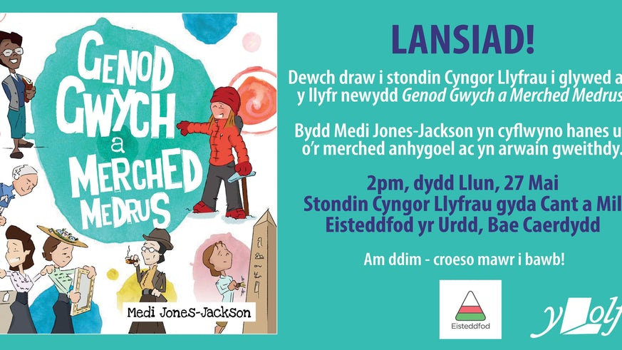 Cover of Welsh book for children
