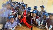 Kids in Namibia