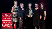 Group of women receive award