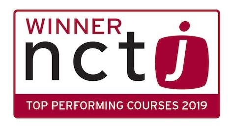 NCTJ Best Course logo