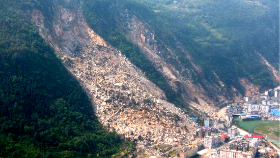 what are the effects of landslides