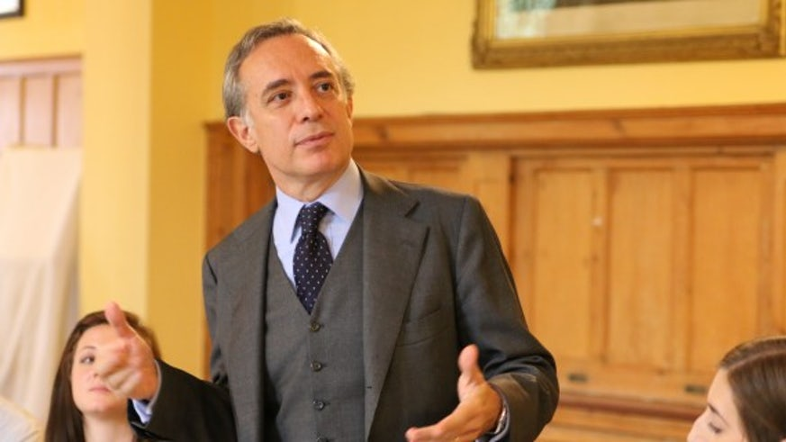 The Italian ambassador