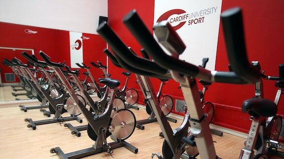Fitness facilities at Studio 49