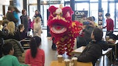 A dragon dance at this year's Chinese New Year celebrations