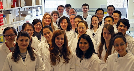 Cardiff China Medical Research Collaborative team in the Main Lab