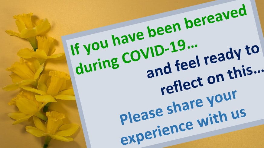 COVID bereavement study