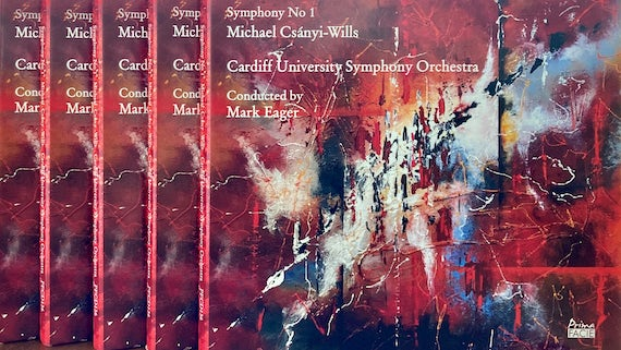 Cover of Symphony No. 1 CD cover by Cardiff University Symphony Orchestra