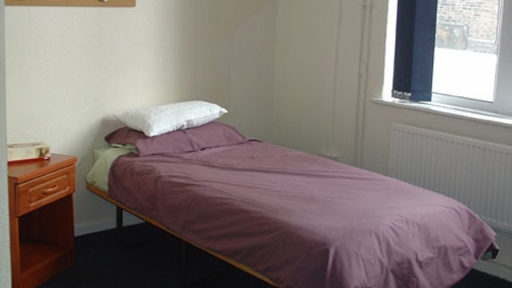 Bedroom at Student HousesFlats (Village) 2