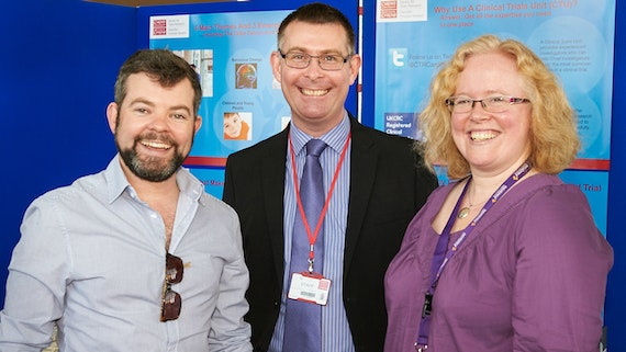 Our Director, Kerry, Mark Kelson and Richard Haggerty