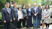 Shandong Academy of Social Sciences delegation