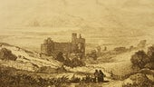 Harlech Castle, in George John Bennett, The pedestrian's guide through North Wales (1838)