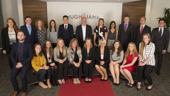 hugh james offers soughtafter placements news cardiff