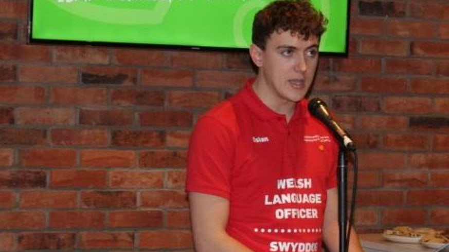Osian Morgan, Welsh Language Officer