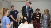 Stephen Griffiths, WEDS visiting Simulation Suite