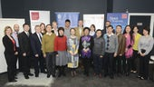Chinese Delegation visit Cardiff Business School Cardiff 10th Nov 2015.