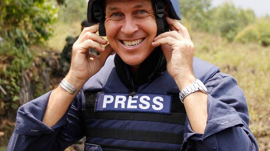 Journalist Peter Greste