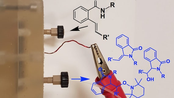 A new 3D printed microreactor for use in organic chemistry