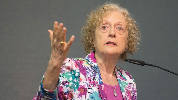 Carole Pateman, Distinguished Professor Emeritus at UCLA and writer of 'The Sexual Contract'.