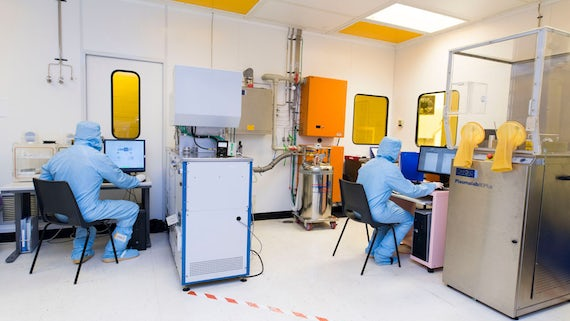Facilities at the Institute for Compound Semiconductors