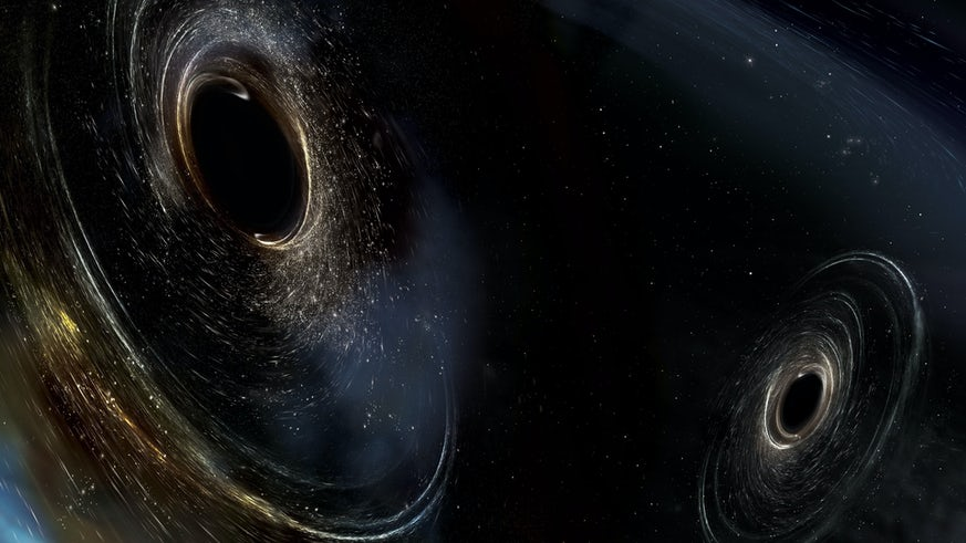 Two black holes