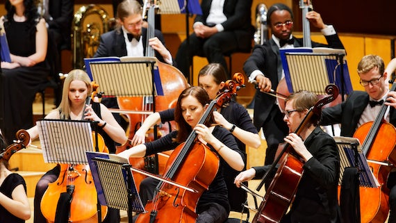 Cardiff University Symphony Orchestra Performing