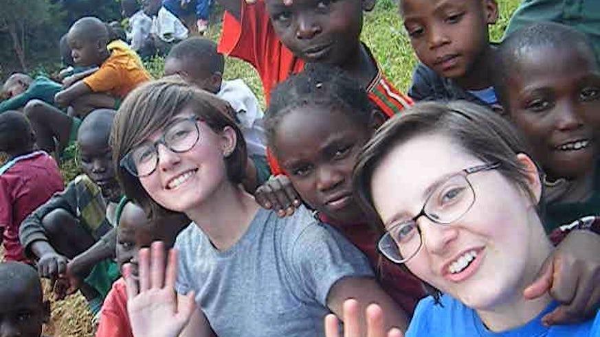 Chemistry students volunteering in Kenya