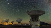 Image of telescope array