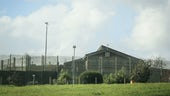 The outside of a prison facility