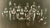 Cardiff University netball team c1920s