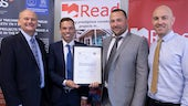 Read Construction accepting BIM ISO Award