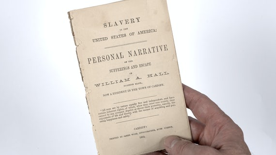 Salisbury Collection - Slave narrative Cardiff 1862