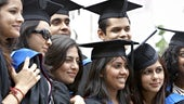 Cardiff University graduates from India