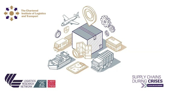 Logo for academic conference on logistics