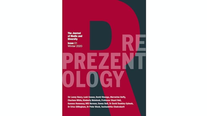Reprezentology journal cover