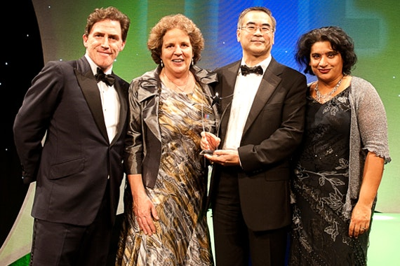 THE Awards Ceremony 2011 hosted by Rob Brydon