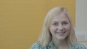 Megan Haf Morgans, Myfyriwr PhD Ysgol y Gymraeg.