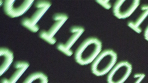 image of binary code