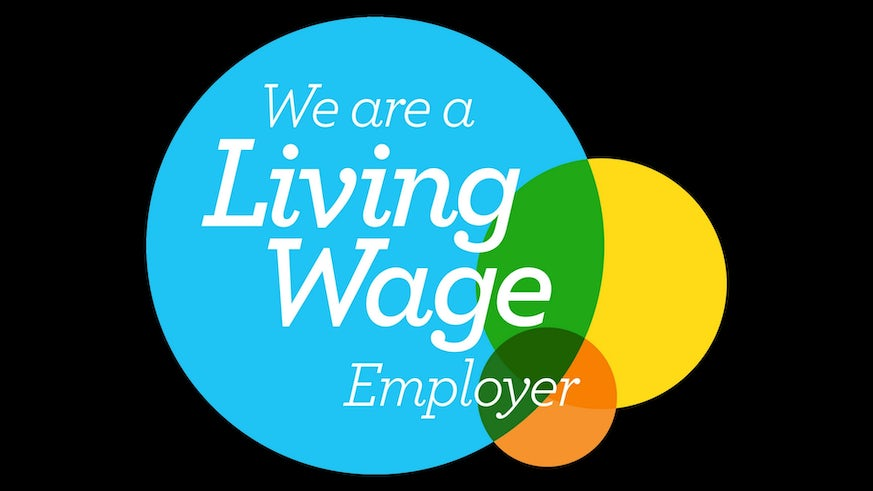 We are a Living Wage employer - Logo